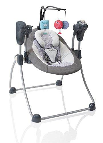 Babymoov-Swoon-Motion-Zink-Balancelle-Bb-Rotation-360-Inclinable-Vitesse-Reglable-et-Berceuses-0